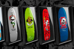 Signed and Framed Bones Brigade Decks