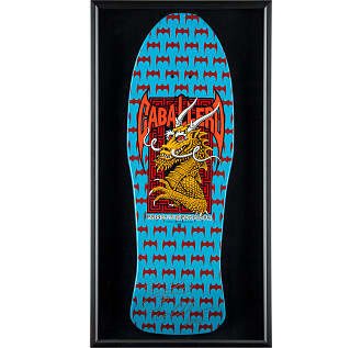 Bones Brigade® Shadowbox Cab BLEM Skateboard Deck Signed by Cab