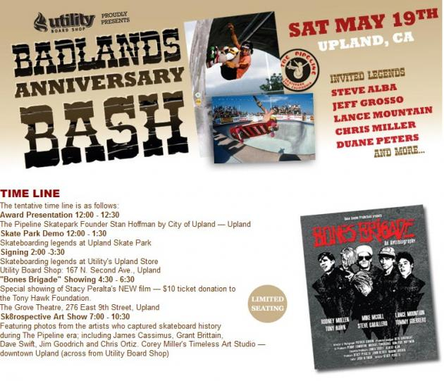 Upland Badlands Bash