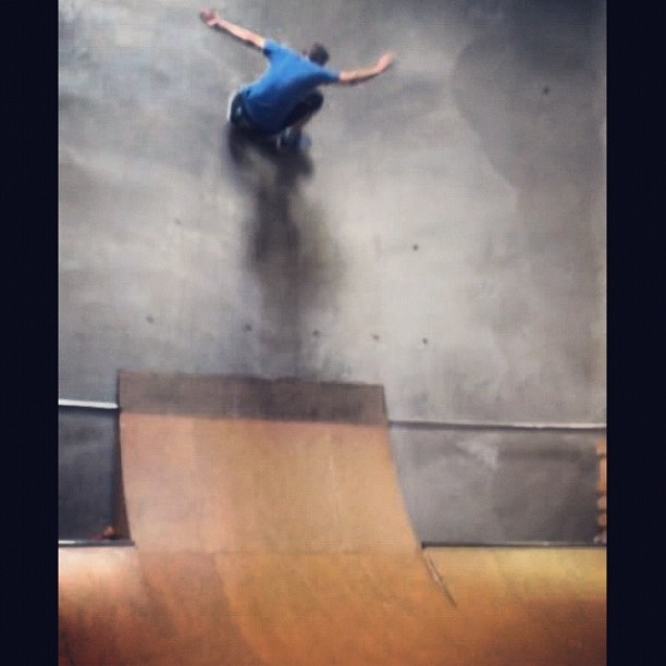 tony fs wallride