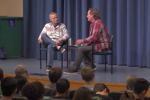 Stacy Peralta, Distinguished Speaker Series at UCSB. Filmed on 2/7/2017