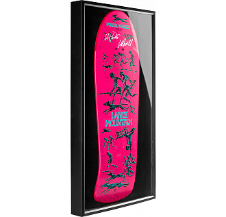 Bones Brigade® Shadowbox Mountain Skateboard Deck Signed by GAP/Stacy